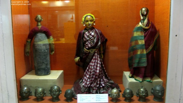 The idols of Maa Gauri at Pune's Raja Deenanath Kelkar Museum