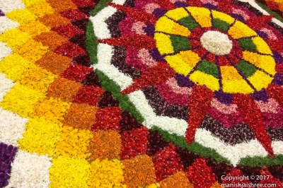 Pookalam- The flower Rangoli of Keral