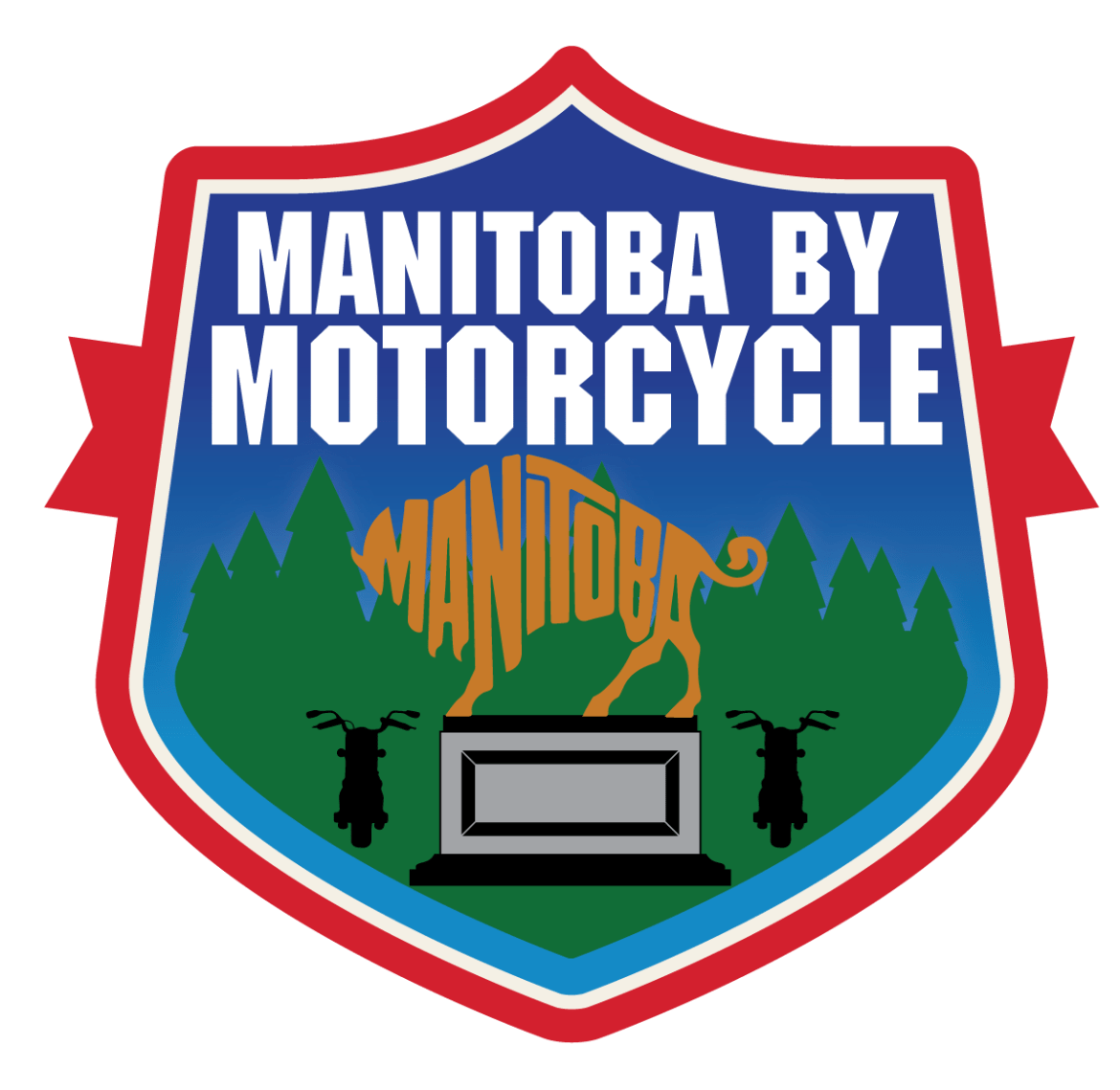 Manitoba by Motorcycle Monuments Patch