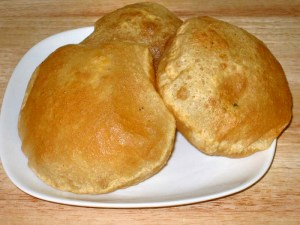 Puri (Flat Bread) Recipe by Manjula