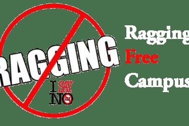 Ragging, No Ragging
