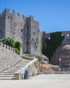 Erice-Trapani, tourist spot, typical of Sicily