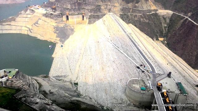 The Tehri Dam, Bhagirathi River