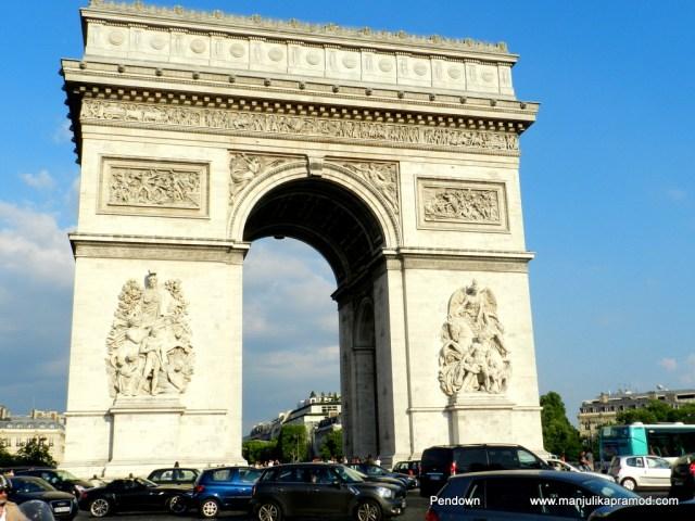 Arc de Triomphe, Paris, street photography, Travel blogger