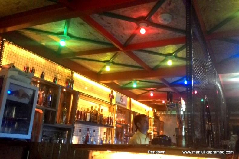 Dhaba Te Theka style restaurant