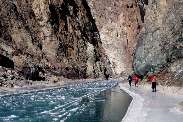 Chadar Trek, Adventure travel, India