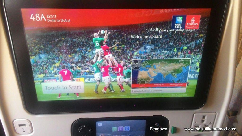 Emirates, Dubai, In-flight entertainment