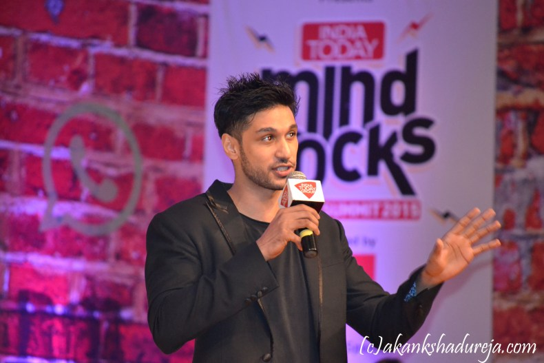 Arjun at Mind Rocks 2015- India Today youth event