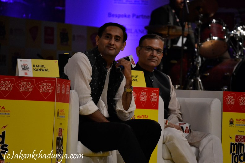 Jayant Sinha at Mind Rocks, India Today event, What is Mind Rocks?