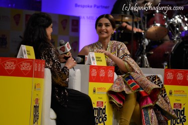 Sonam Kapoor at Mind Rocks