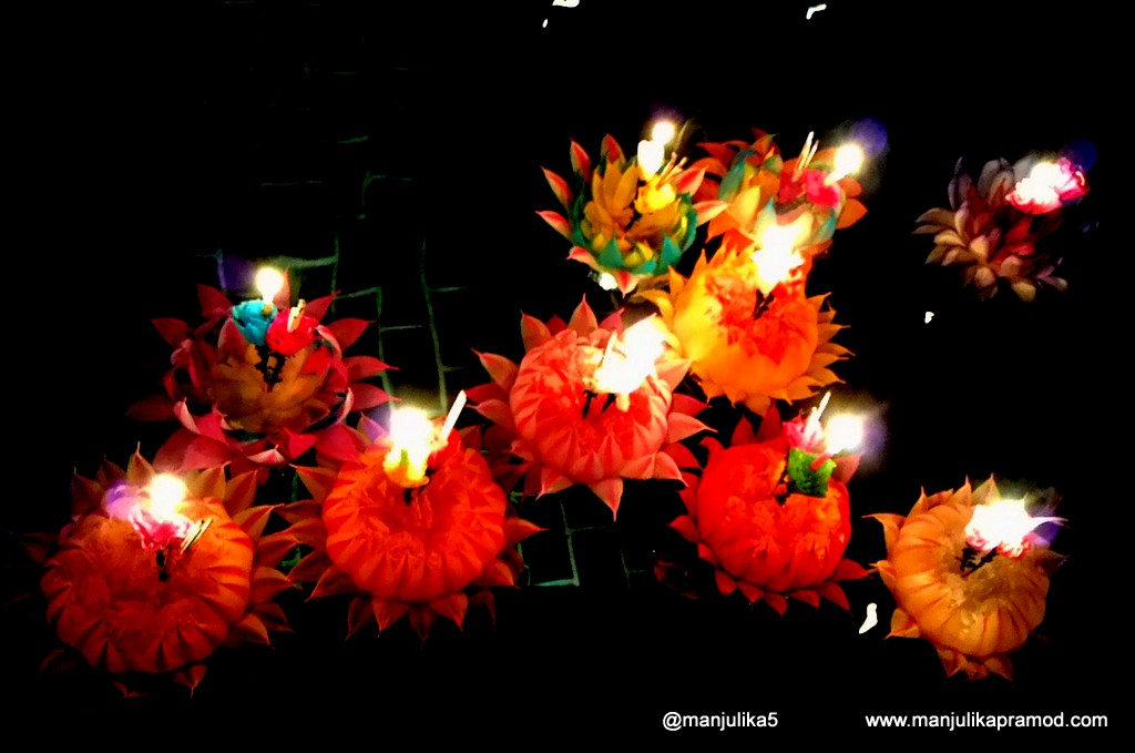 "Loi Krathong means ""to float a basket"", Bangkok, Radisson Blu in Delhi"