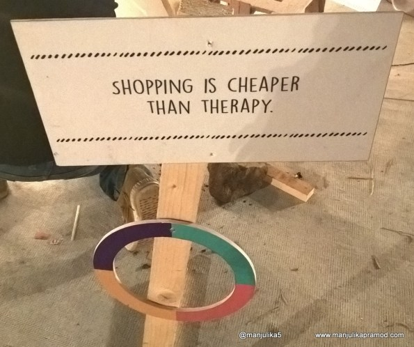 The Lil Flea, SHopping is Cheaper than Therapy