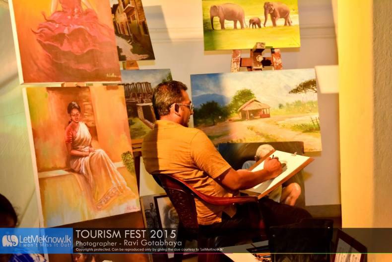 Artists in Sri Lanka, Tourism fest 2015