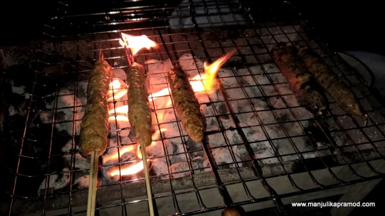 Al Mamzar Park -BBQ station