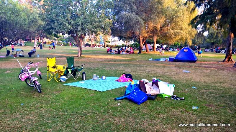 Al Mamzar Park in Dubai -Picnic time begins