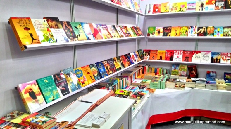 One by one, I did visit the stalls by my favorite publishing houses. I am grateful that they send me their books regularly for reviews.