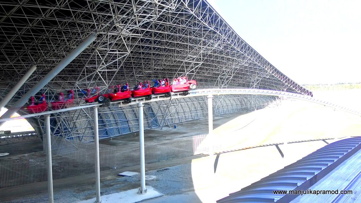 Formula Rossa, Abu Dhabi, Ferrari World, Travel