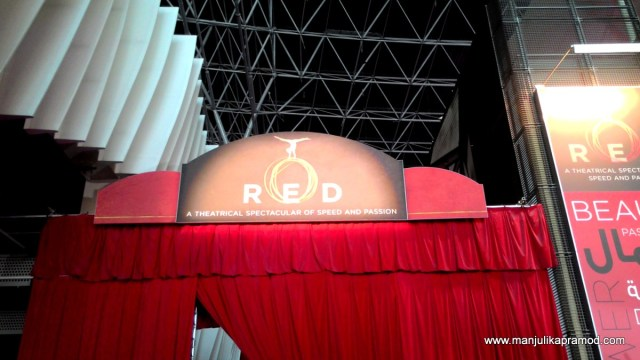 RED-A theatrical performance
