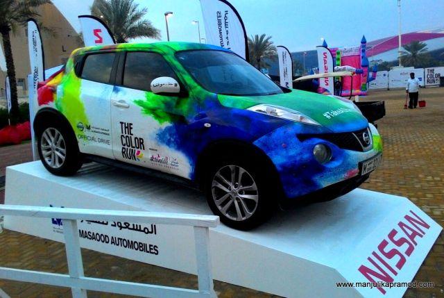 Abu Dhabi-Colour Run