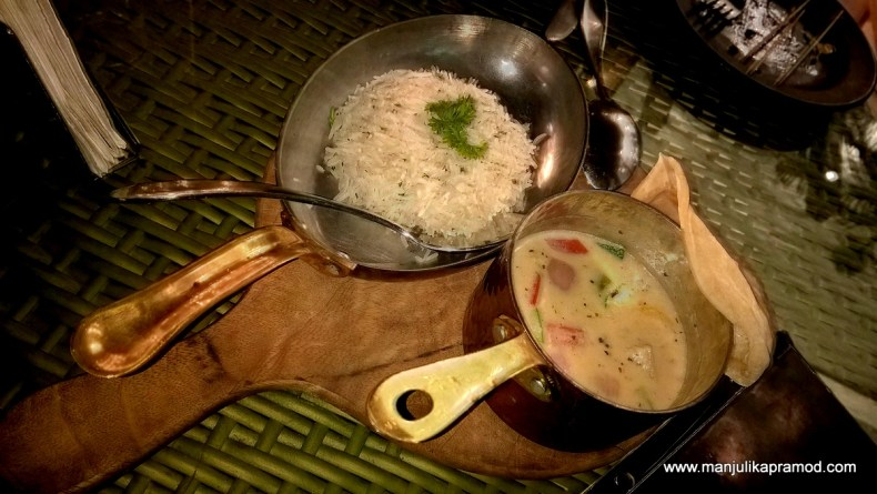 Curry and Herb Rice, Delhi, Food, Restaurant, Review