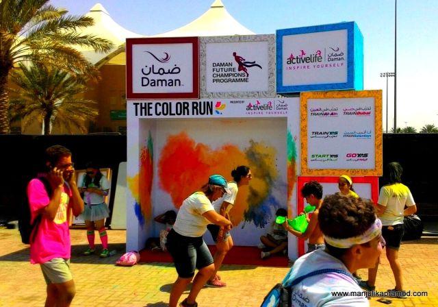 Colour Run,Abu Dhabi
