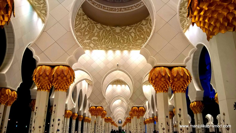 Mosque, Stunning beauty, Made in marble, Abu Dhabi