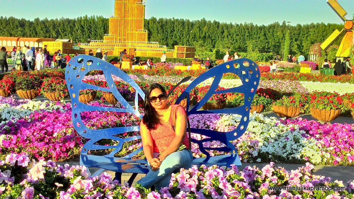 Dubai, Miracle garden, Butterfly garden, Pictures, Travel blogger