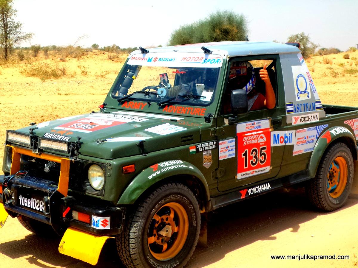 Navigator, Driver, Car Rally, Maruti Suzuki, Desert Storm, Jaisalmer, Jodhpur