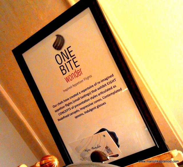 ONE BITE wonder, ITC Hotels