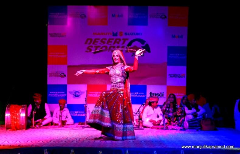 Queen Harish, Local dancer, Jaisalmer, Desert Rally