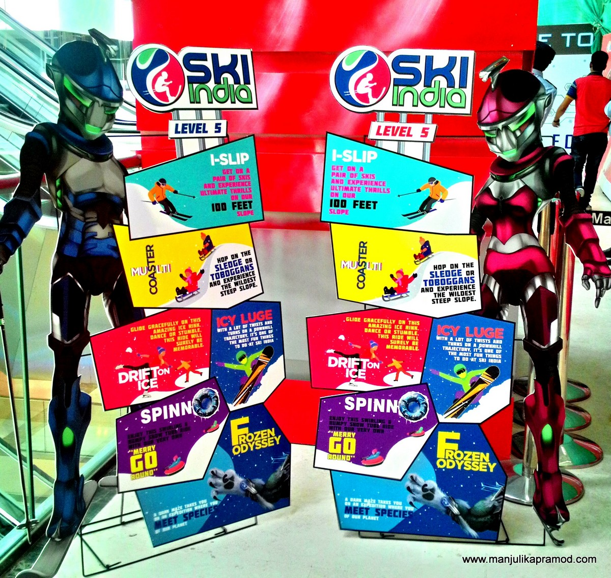 Ski India, Mall of India, Snow capital, Noida, NCR