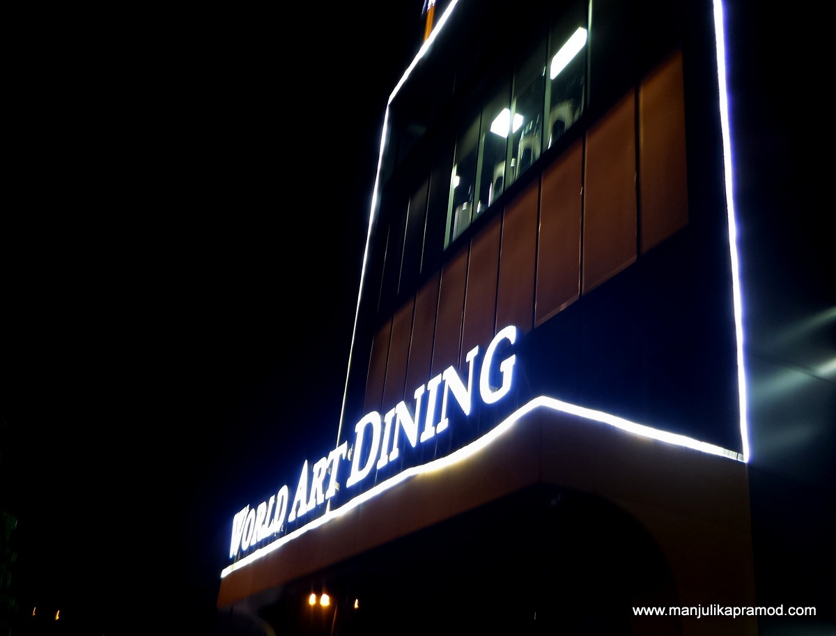 World Art Dining, Food, Punjabi Bagh, Review, Delhi eating places