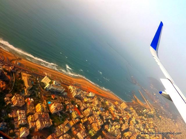 Vizag, Back from Vizag, New Delhi to Vizag, Travel