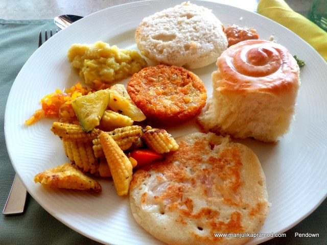 My Breakfast plate-Vizag