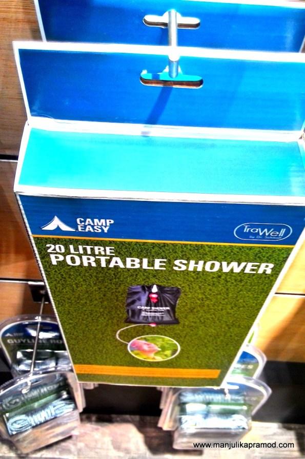 Portable Shower, Be prepared, Traveler, Travel blogger, Basecamp