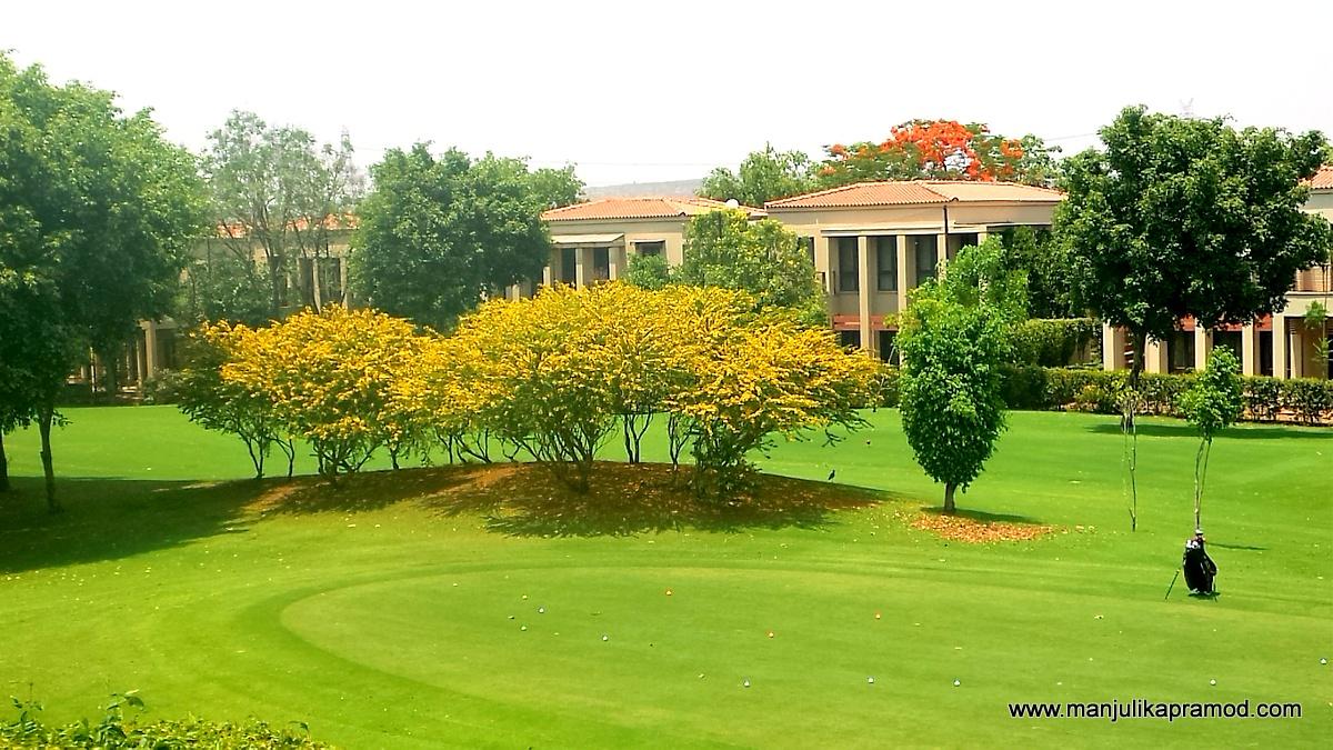 Golfing, Putting practice arena, Lemon Tree Resort