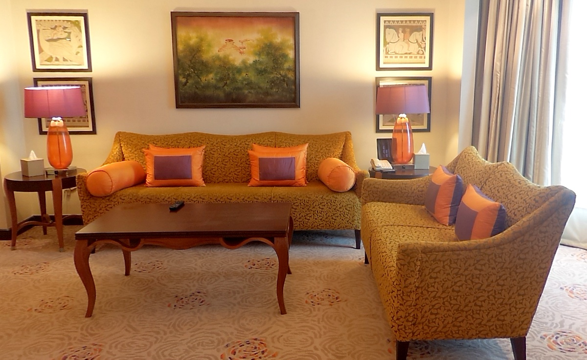 Yet another living room-Chanakya Presidential Suite