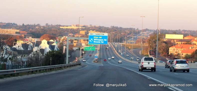 Johannesburg, Roads, Blog