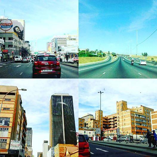 Exploring, Johannesburg, CBD, Jozi, on the roads