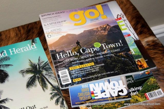 Cape Town, Magazine