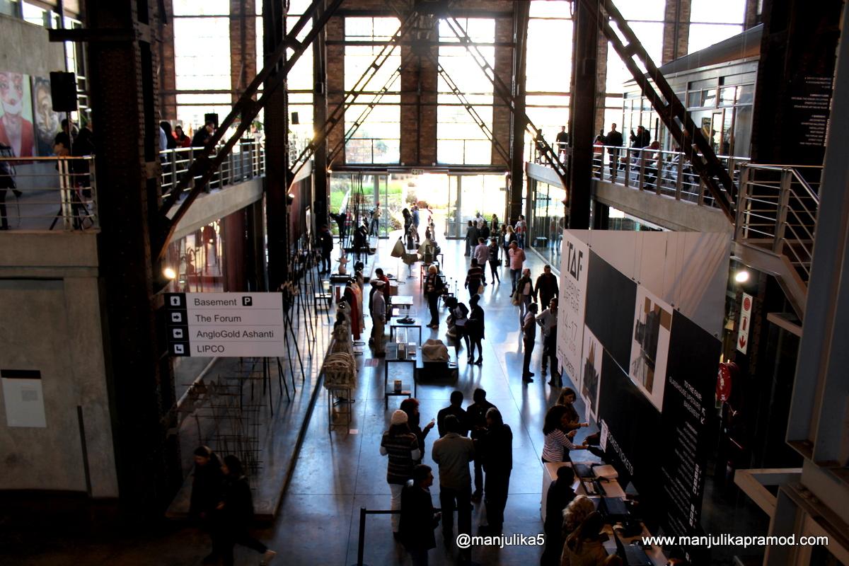 Saturday, Turbine Art Fair, Johannesburg, Turbine Hall