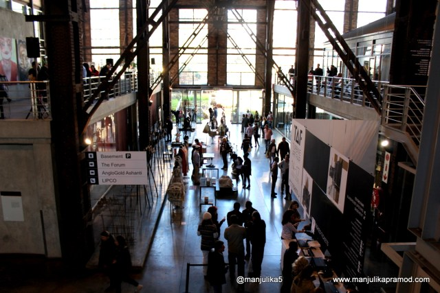 Saturday, Turbine Art Fair, Johannesburg, Turbine Hall