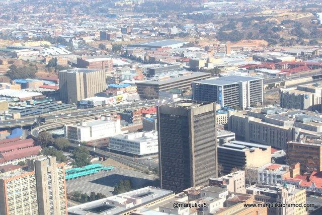 Top of Africa-Picture taken from Carlton Center