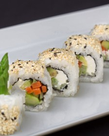Sushi in India