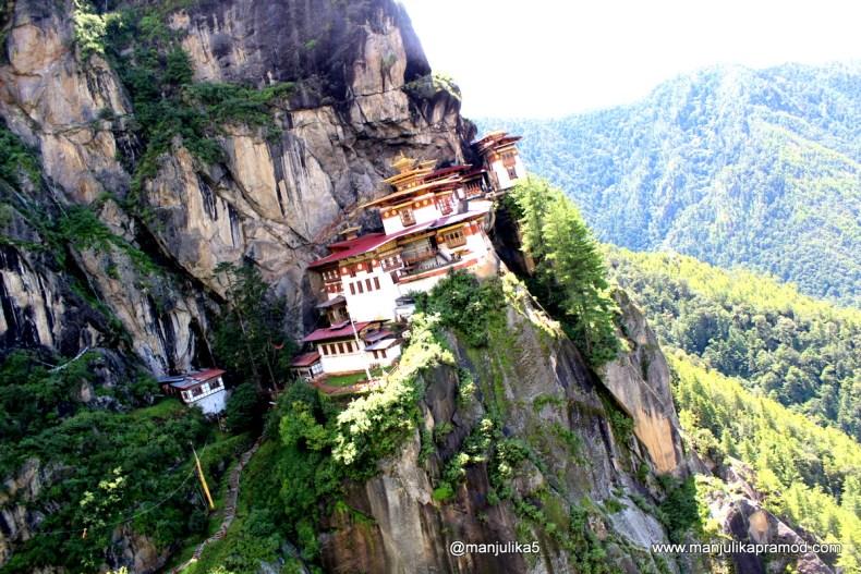 Tiger's Nest, Tiger's Lair, Paro Taktsang, Bhutan
