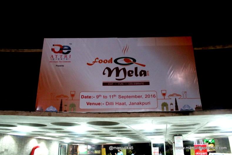 Food Mela, Dilli Haat