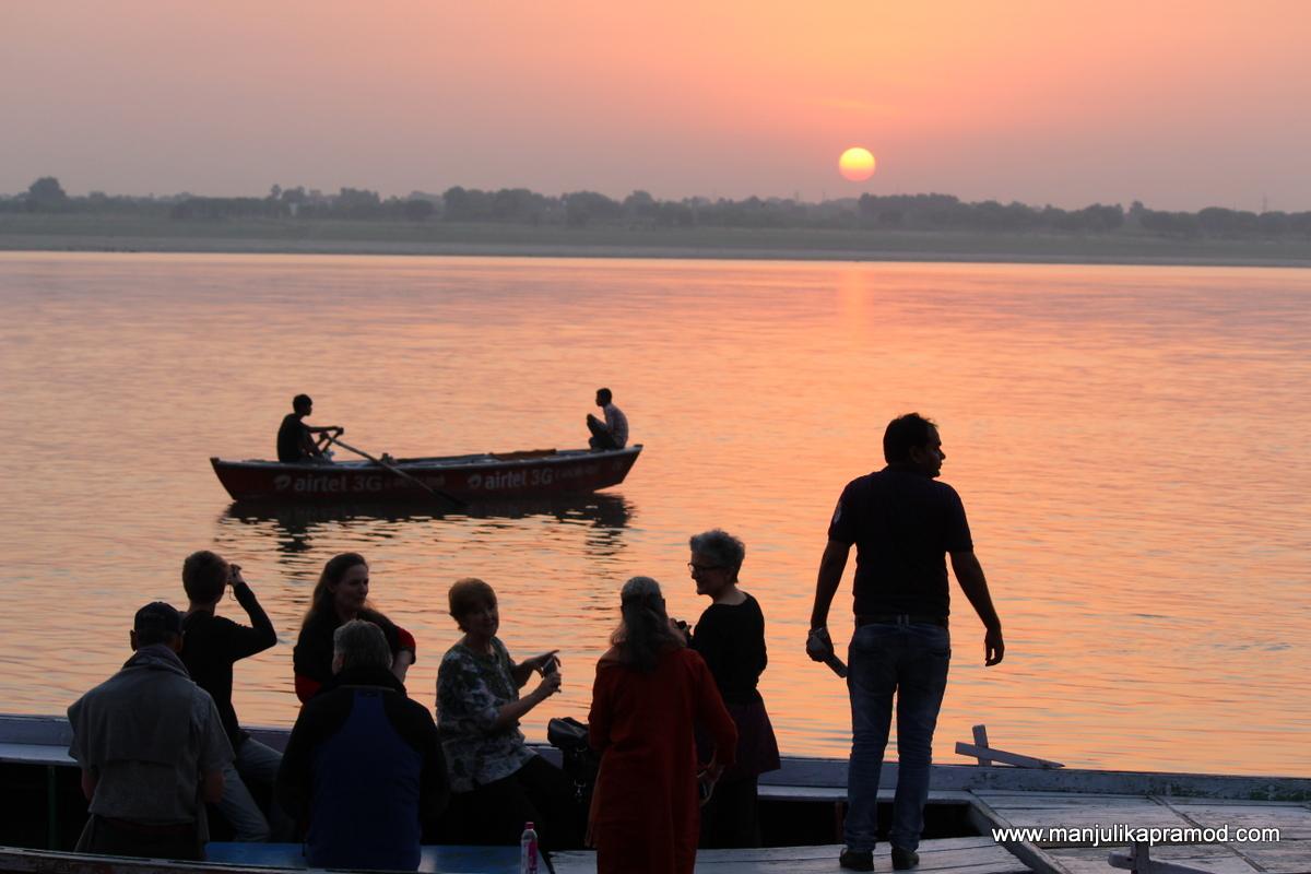 Sunrise, Varanasi, Ghats