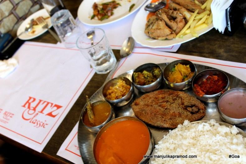 Ritz Restaurant in Goa