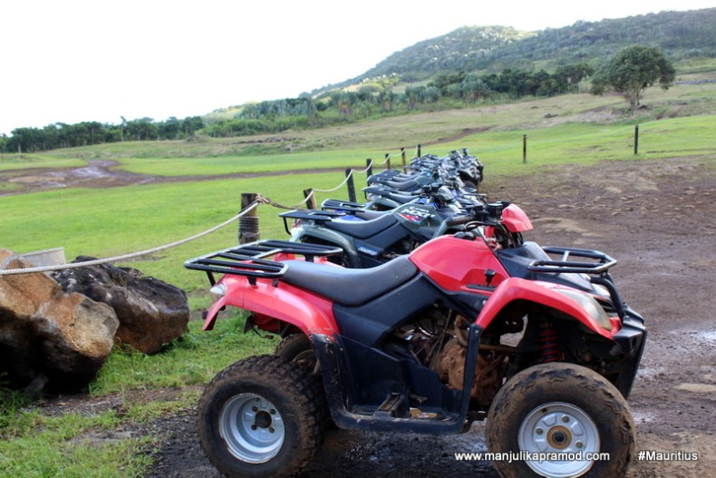 Quad biking is fun, adventure blogging
