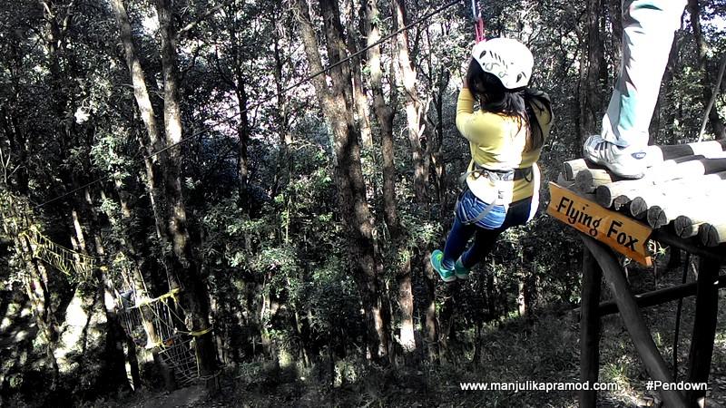Ziplining, Adventure Sports in delhi